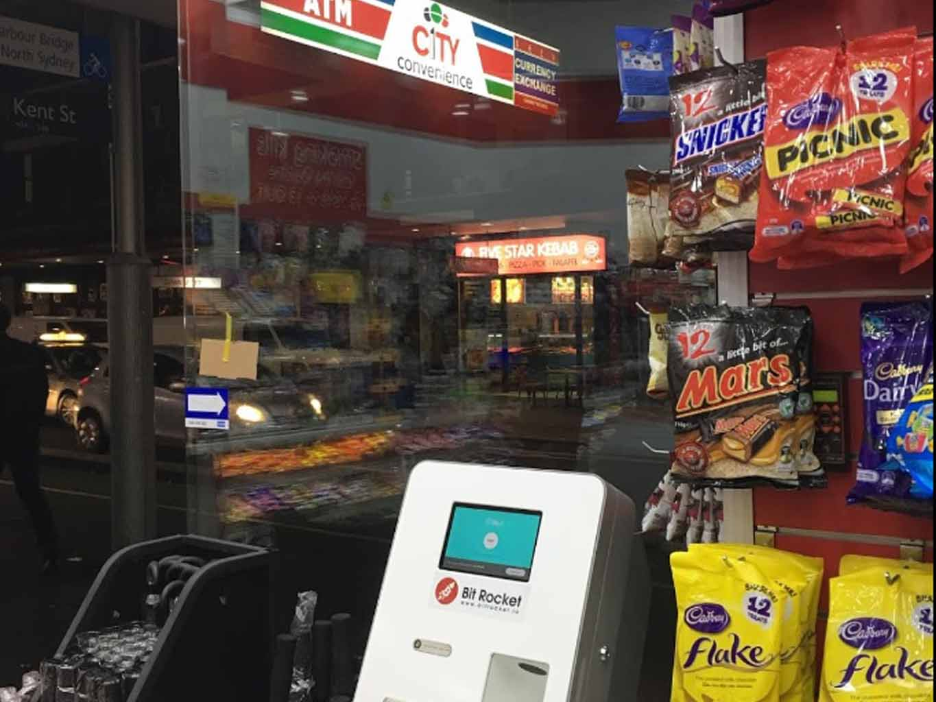 Bitrocket Buy Bitcoin ATM Liverpool St, Sydney 2000
